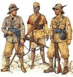 Battle of Keren, February/March 1941 • Soldato, 11th Regt, 'Granatieri di Savoia' Div  • Bulucbasci, 5th (Eritrean) Colonial Bn  • Caporale, 'Uork Amba' Alpini Bn