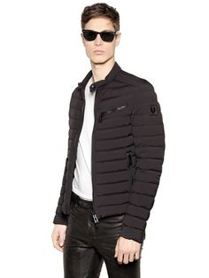 """BELSTAFF - """"TANWORTH"""" QUILTED DOWN JACKET - LUISAVIAROMA - LUXURY SHOPPING WORLDWIDE SHIPPING - FLORENCE"""