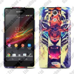 Hot patterns Printing Gel TPU case cover for Sony Xperia ZR M36h with free shipping