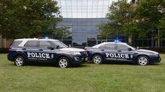 Fairfax, Fairfax County Virginia Police vehicles.