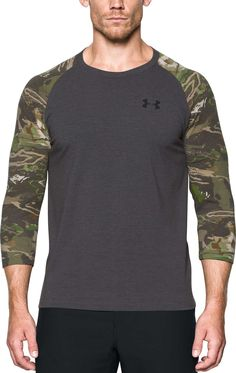 27987b363748f Under Armour Men's Ridge Reaper Hunting Long Sleeve Shirt, Size: Medium,  Carbon Heather