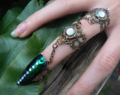 Swarovski midi ring CHOOSE ONE armor ring knuckle by gildedingypsy