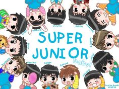 "Search Results for ""super junior cartoon wallpaper"" – Adorable Wallpapers Yesung, Kim Heechul, Super Junior Songs, Choi Siwon, Jr Art, Kpop, Cute Chibi, Tvxq, K Idols"