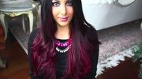 Ombre κόκκινο μαλλί