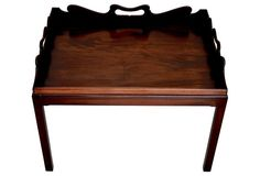 Georgian-Style Butler's Tray Table