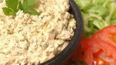 BEST Tuna Salad - Curry and Parmesan cheese are the secret ingredients in this tuna salad recipe! I have never tasted another tuna salad like it. I added 2 tsp lemon juice to brighten it up. Tuna Recipes, Seafood Recipes, Salad Recipes, Cooking Recipes, Healthy Recipes, Best Tuna Salad Recipe, Bar Recipes, Salad Bowls, Soup And Salad