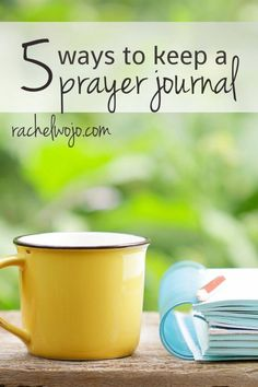Ready to start keeping a prayer journal? Choose from 5 different ideas for ways you can keep your prayer life in order!