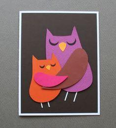 make a momma bird card