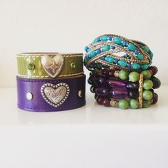 Purple and Green combos