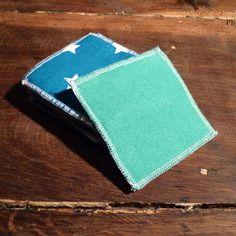 Lot de 10 carrés pour les soins démaquillants/nettoyants