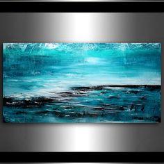Decorar su hogar y oficina con las más singulares obras de arte originales. Esta es una de la mejor pintura abstracta de calidad hecha por el arte fino de Maitreyii. Más pinturas está disponible aquí: http://www.etsy.com/shop/largeartwork =======================================&#...