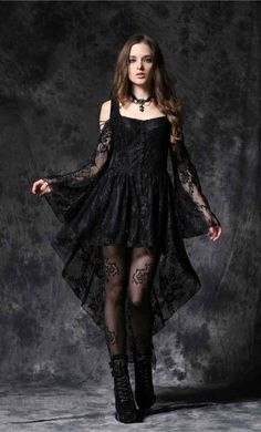 Top Gothic Fashion Tips To Keep You In Style. As trends change, and you age, be willing to alter your style so that you can always look your best. Consistently using good gothic fashion sense can help Goth Outfit, Goth Dress, Wedding Dress Black, Lace Dress Black, Ghost Dresses, Prom Dresses, Lace Dresses, Wedding Dresses, Edgy Outfits
