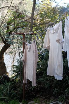 A few shirts to dry