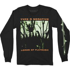 Type O Negative October Rust Long Sleeve Long Sleeve 412979 | Rockabilia Merch Store Metal Shirts, Type O Negative, All Brands, Graphic Sweatshirt, T Shirt, Hoodies, Sweatshirts, Long Sleeve Shirts, Lord