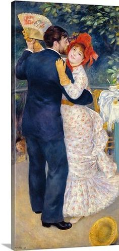 Renoir - Dance in the Country 1883