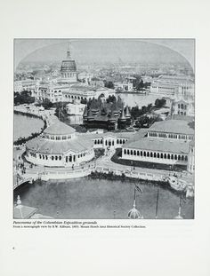 The Grand World's Columbian Exposition: planning the fair