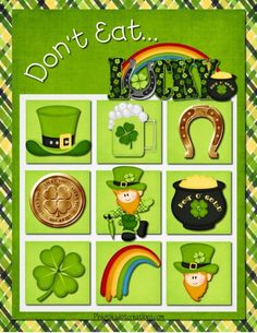 Printable St. Patrick's Day Games