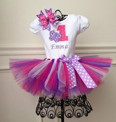 butterfly 1st birthday tutu outfit, birthday tutu outfit, cake smash tutu, birthday photo tutu.