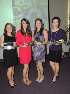 Congratulations to the TCU 2013 Women's Rifle All-Americans Megan Lee, Sarah Beard, Caitlin Morrissey, & Sarah Schere