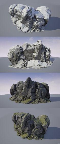 (15) Image: http://cremuss.net/3d/wip/RockSculpting_WIP_3b.jpg | Textures/Materials | Pinterest