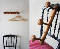 Wall Hook フランスアンティーク壁掛けコートフック什器ブロカント インテリア 雑貨 家具 Antique ¥3800yen 〆06月11日