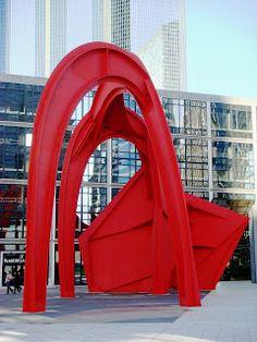 Alexander Calder. Stabile, 1976. La Défense Paris