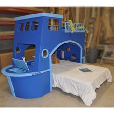 Tanglewood Kids Bunk Bed | Ship Ahoy Loft Bed | ABaby.com - could you build yourself?  otherwise, it's crazy expensive
