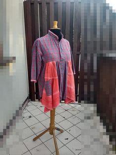 2X Upcycled Poorgirl Tunic Dresses Mori Girl Shabby Chic Boho   Etsy Bohemian Pants, Tunic Dresses, Shirt Refashion, Mori Girl, Fashion Tips For Women, Country Chic, Handmade Clothes, Sewing Clothes, Shabby Chic