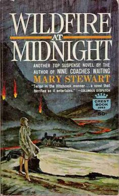 """""""Wildfire at Midnight"""" Mary Stewart I Love Books, Books To Read, Vintage Book Covers, Vintage Books, Gothic Books, Thriller Books, Book Authors, Romance Novels, Writing A Book"""