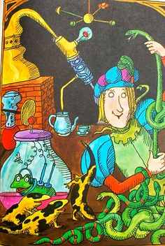 Tomi Ungerer : The sorcerer's apprentice published in 1969. Lancelot Press, New York. Written by Barbara Hazen.