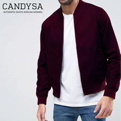 Candy SA | Burgandy Classic Bomber