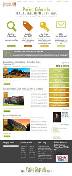 How To Quote A Website Pinreal Estate Tomato On Examples Of Real Estate Websites .