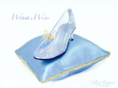 NEW! Cinderella 2015 Glass Slippers FOR GIRLS with Butterflies, Cinderella Shoes, 2015 Cinderella Glass Slippers with Gold Butterfly by wickedandwonder on Etsy https://www.etsy.com/listing/245043091/new-cinderella-2015-glass-slippers-for