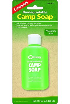Coghlan's Biodegradable Camp Soap ** Check out the image by visiting the link.