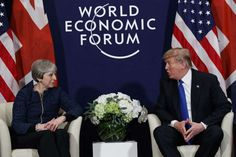 "Trump: I would be 'tougher' in Brexit talks than UK's May - January 28, 2018.  LONDON (AP) — U.S. President Donald Trump says he would take a ""tougher"" attitude toward Brexit negotiations than the approach now being used by British Prime Minister Theresa May."