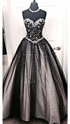 295 Best black ball gowns images  a994be89c675