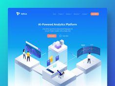 Tellius   website redesign