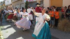 Danses del 9d'Octubre en el Carrer Pal