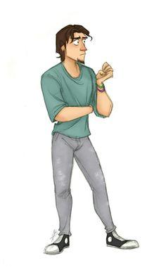 Character Inspiration, Character Design, Rapunzel And Flynn, Flynn Rider, Disney Couples, Disney Pixar, Tangled, Nerd, Animation