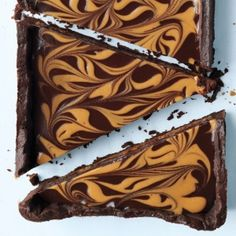 chocolate peanut butter tart - you can never go wrong with peanut butter and chocolate