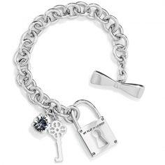 Socialite Charm Bracelet available at #Brighton.  My 3rd Brighton Charm Bracelet.  2014.