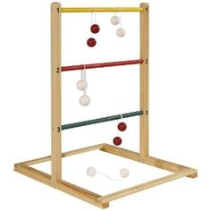 Make sure this fits by entering your model number. #1 SELLING LADDER TOSS ON AMAZON - Top Quality, Price & Customer Service for Family Fun! FULL SET: Includes 2 Premium PVC Targets with Score Trackers, 6 Golf Ball Bolos (3 Red + 3 Blue), Carrying Case and Rules/5().