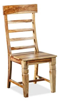 American Furniture Warehouse -- Natural ladderback side chair