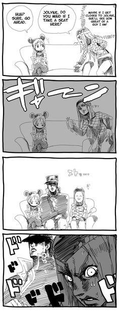 Jotaro is a good dad