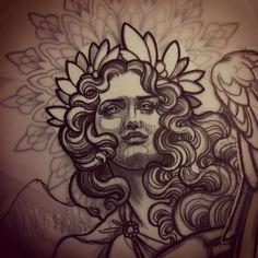 Tattoo Artwork by Teniele Sadd