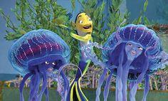 Will Smith, Ziggy Marley, and Doug E. Doug in Shark Tale Martin Scorsese, Shrek, Pixar, Dreamworks Studios, Shark Tale, Epic Movie, Animated Cartoons, Jack Black, Animation Film