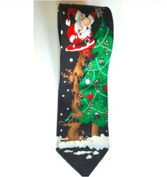 DAYS OF CHRISTMAS RECYCLED FUN PARTY OFFICE NECK TIE XMAS NOVELTY TWELVE TIES