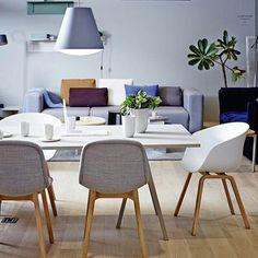Neu chair er blitt en ny favoritt hos oss,  den har utrolig god sittekomfort 👌 De kan trekkes i mange lekre stoffer fra kvadrat 👉 www.lunehjem.no