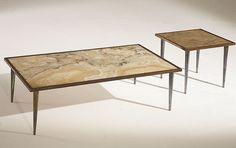 Stone International Occasional Tables  www.schoenfeldinteriors.com