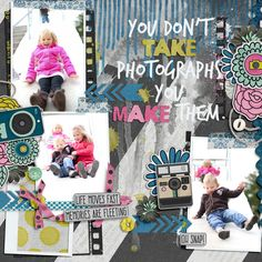Kit: Picture Perfect by Laura Banasiak - Template: Drippy 2 by Fiddle Dee Dee - Page design by To Be Remembered Designs